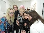 BA (Hons) Fine Art students in Milan