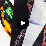 Fashion branding video image