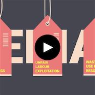 Graphic design video image