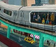 train illustration