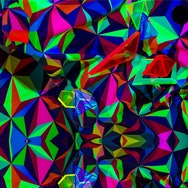 abstract fractal colour