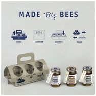 Product and packaging for honey designed by a student