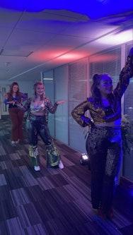 Mamma Mia Dancers at University House