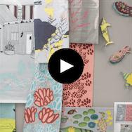 Textiles video image