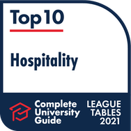 Top ten hospitality logo – Complete University Guide