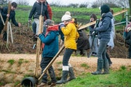 AUBSU organised the event with the Woodland Trust